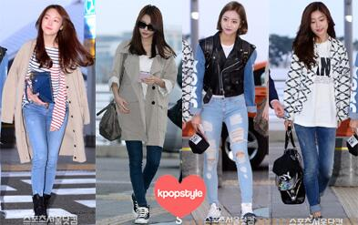 Kpop Fashion Style On Twitter Airport Fashion 140411