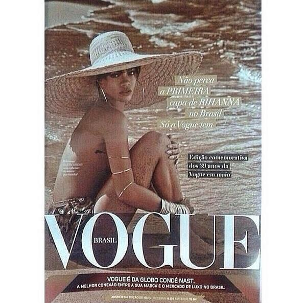 Is This Rihanna's Vogue Brazil Cover? We Sure Hope So!