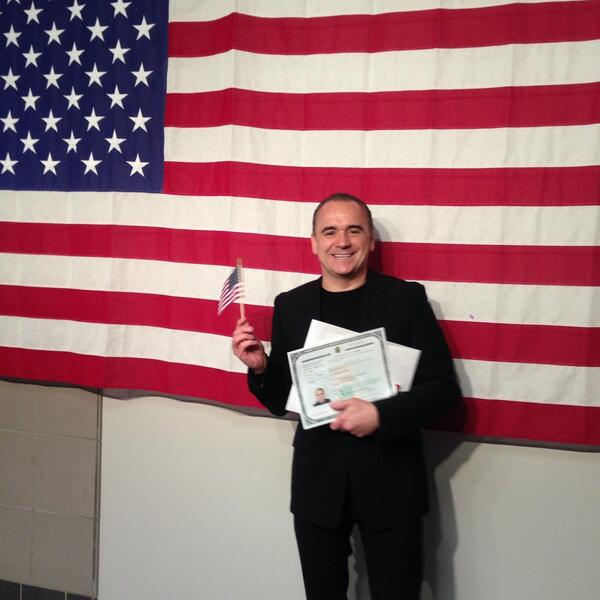 God bless America! #newUScitizen http://t.co/mQiS24WK2B