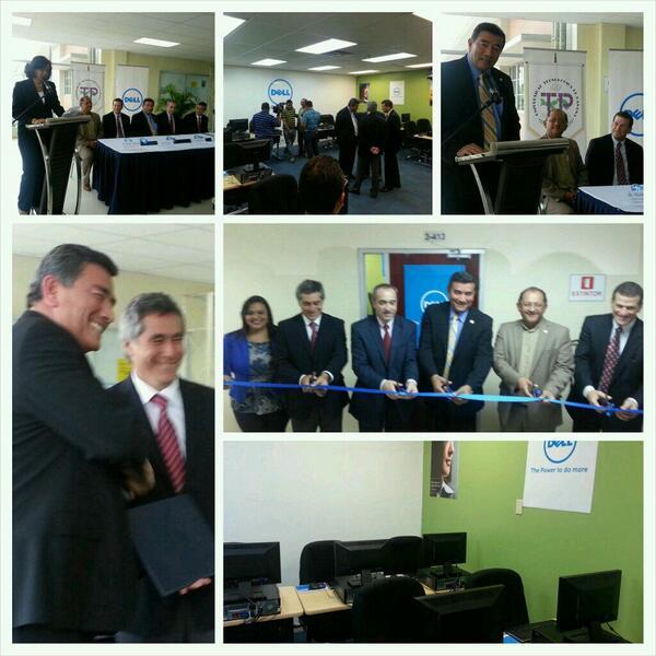 Se inaugura el Laboratorio IT @DellPanama en @utppanama para impulso de actividades de formación #ITeP http://t.co/TDq7KI4D9a