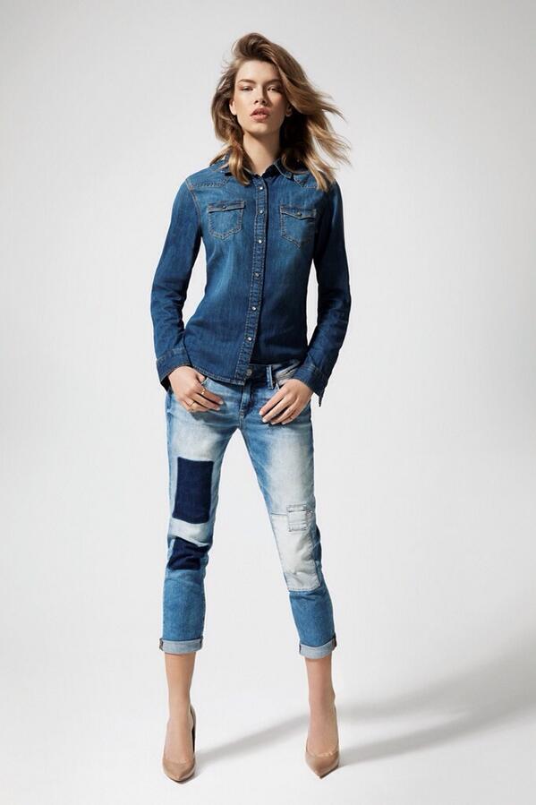 """Mavi on Twitter: """"Seksi boyfriend jeans Ada'nın patchwork ..."""
