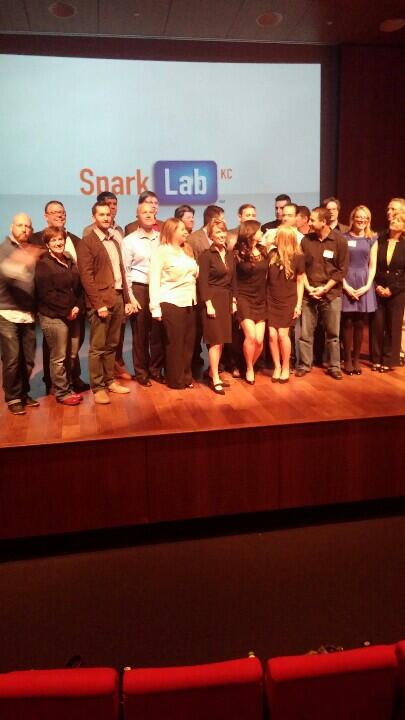Fun to see the SparkLabKC graduating class! http://t.co/9vjPXYTp0b