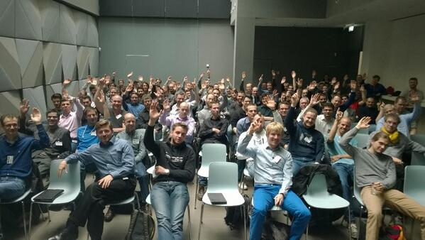 Our #k4wdev event in Berlin today was awesome!  Great feedback and terrific demos! http://t.co/1nHxQqmTv6
