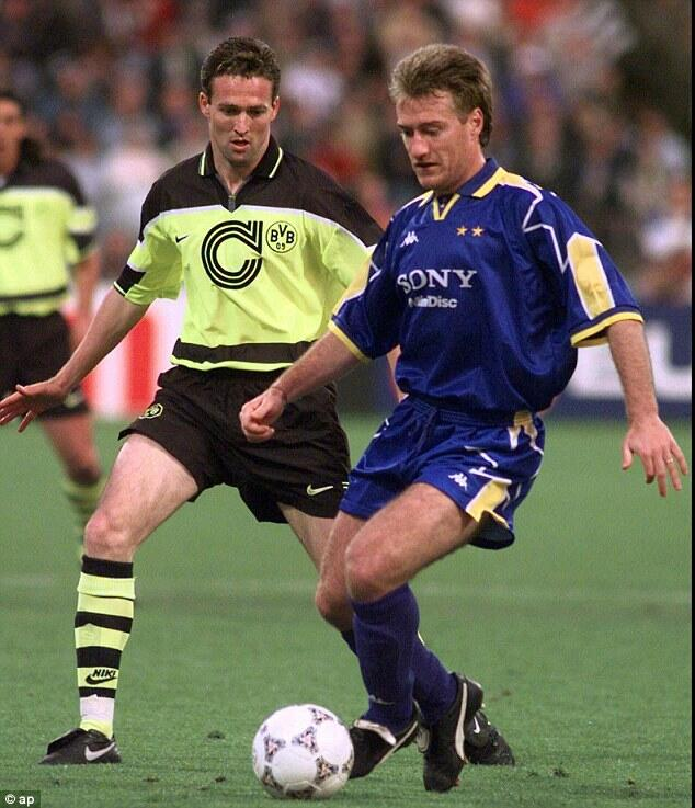 90s football on twitter paul lambert of borussia. Black Bedroom Furniture Sets. Home Design Ideas