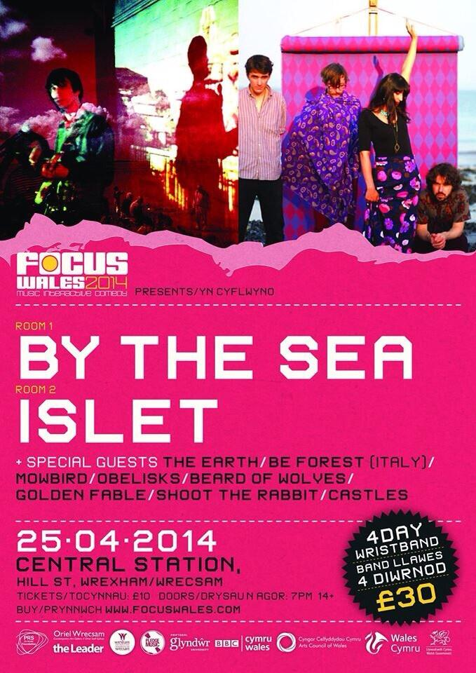 Islet / By The Sea (Focus Wales) @ Central Station, Wrexham