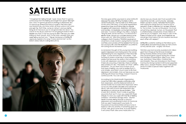 Thanks @360Magazine for the feature in your latest issue. #saysomthingtrue full issue here: http://t.co/q50K9rpmPU http://t.co/fgeVT0KplR
