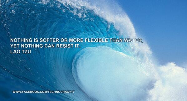 Nothing is softer or more flexible than water, yet nothing can resist it.  - Lao Tzu RT @JETAR9 http://t.co/iX3CA7JqlE