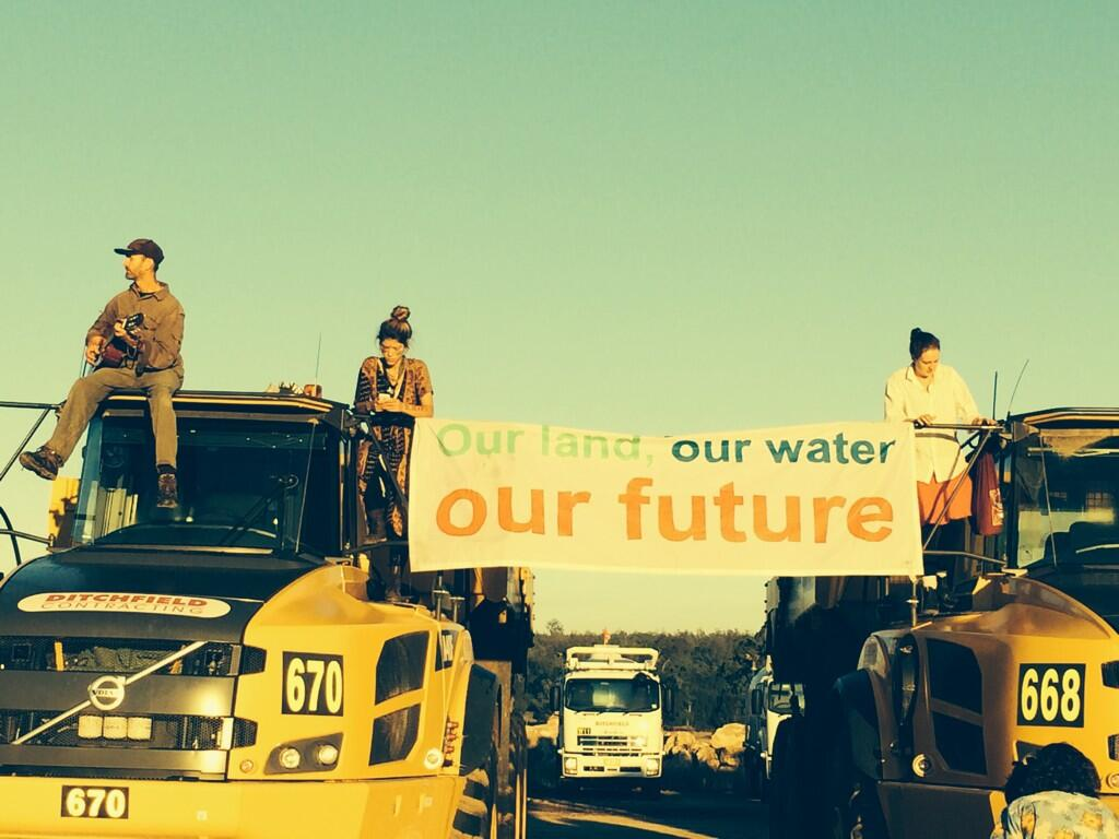 Twitter / margokingston1: Our land, our water, our future ...