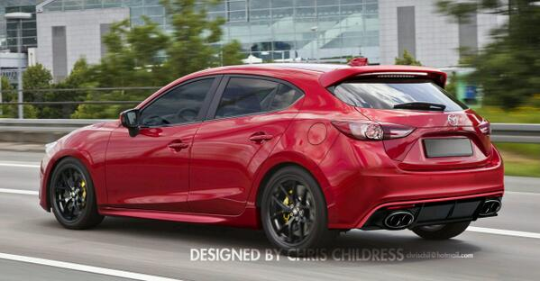 mazdaspeed 3 on twitter not feeling the quad exhaust but everything else looks pretty. Black Bedroom Furniture Sets. Home Design Ideas