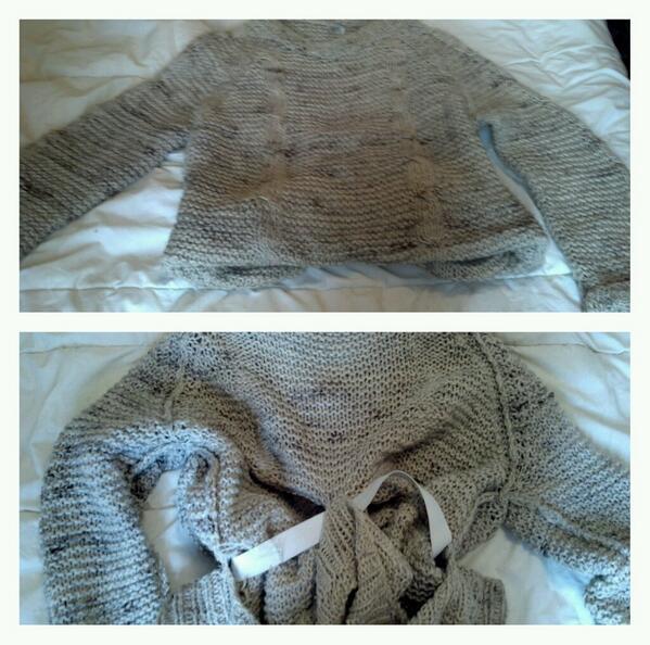 Dear #Skinnybitches: Oversized = not cute if u need a safety harness to keep sweaters on u. #eatafuckingsandwich #wtf