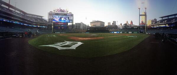 It's #OpeningDayDET!! http://t.co/1pMKbyhsh4
