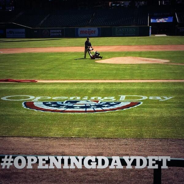 Don't forget to use hashtag #OpeningDayDET with your pictures and tweets today! http://t.co/e1ATwqBNXn