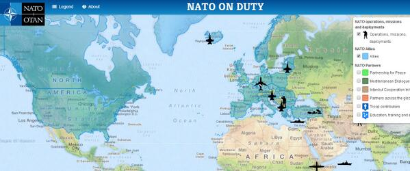 Us Embassy London On Twitter Where Is At Nato Active New - Us-embassy-london-map