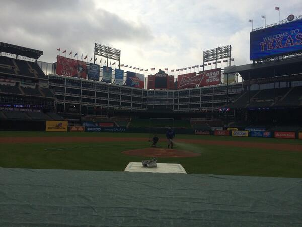Well that day is here. It's opening day in Arlington.So lets get this thing rolling. Make some noise @Rangers !!!! http://t.co/K1ul7RPMzK