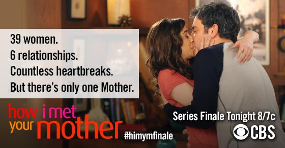 The story concludes TONIGHT! Get a sneak peek of the #HIMYMFinale now: http://t.co/Z46UXQdcIq http://t.co/1RmIe3LfOT