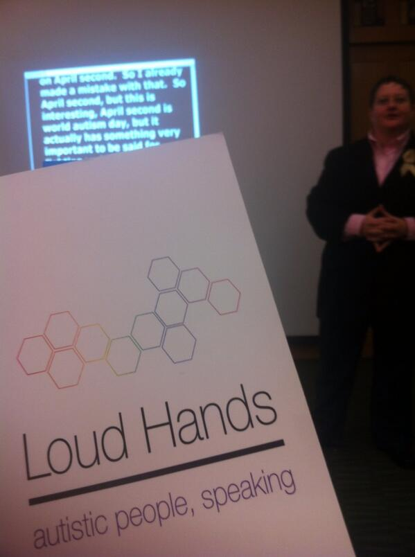 The book by @tinygracenotes Loud Hands #uma11y http://t.co/1Bv7kii3T8