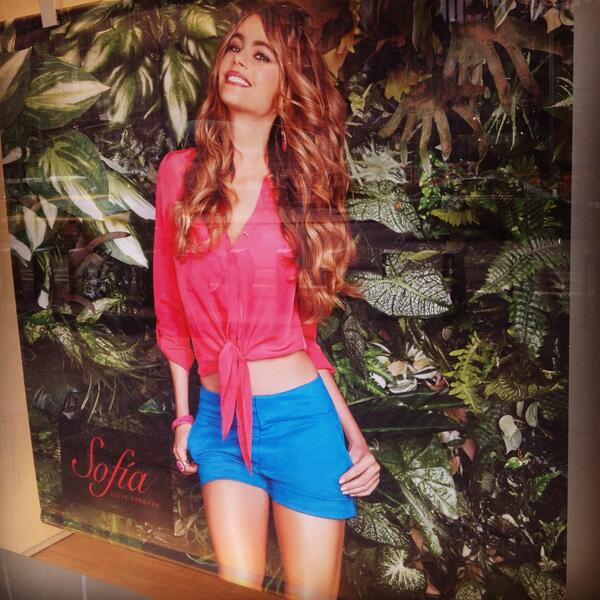 Spotted our favorite girl, @SofiaVergara while shopping at #KmartFashion today
