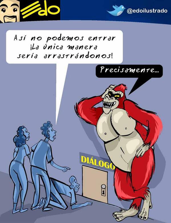 #Caricatura de @edoilustrado hoy en El Mundo - Diálogo Vea todas sus creaciones en http://t.co/VPcVjBRGG0 http://t.co/6dZCHGtJNB