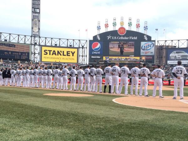 Your Chicago White Sox. #CWSOpeningDay http://t.co/hqY1bbTZlM