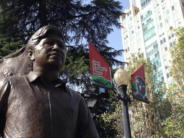 Happy Cesar Chavez Day, #Sacramento #DowntownSac http://t.co/uTYudbgndd