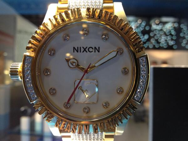 Check out this @Nixon_Now we spotted at #Baselworld2014 http://t.co/UCfg0PzY75