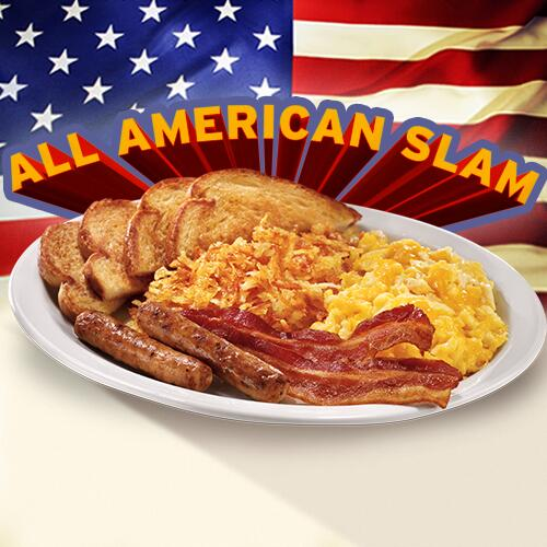 Image result for denny's all american slam