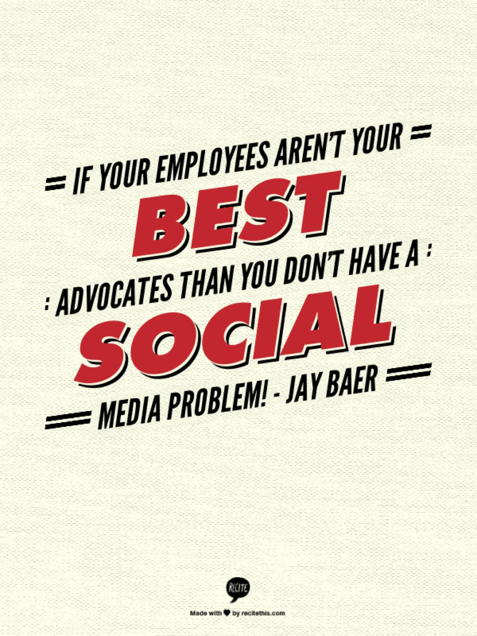 Twitter / iSocial_Fanz: I think @jaybaer said it right ...