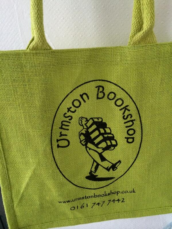 escape with my urmston bookshop stolen bag