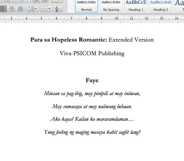 marcelo santos iii quotes para sa hopeless romantic | 6am ...