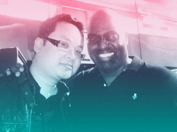 You inspired me so much.(my heroe) The Godfather of House Music. Rest in Paradise Frankie Knuckles @FKAlways http://t.co/Mcx2frnP8M
