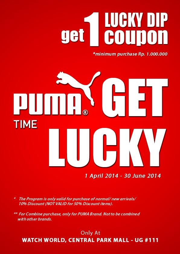 Central Park Mall On Twitter Get 1 Lucky Dip Coupon Every