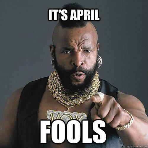 A message from Mr. T on #AprilFoolsDay http://t.co/XxrZGoiUNf