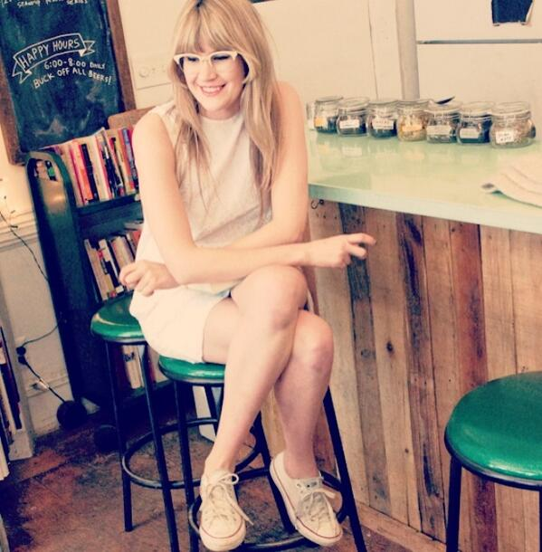 At fave spot Molasses books + cafe in Bushwick for @papermagazine shoot #styldby @gap http://t.co/J7s1hIEJWt http://t.co/7ct6H3UFvY