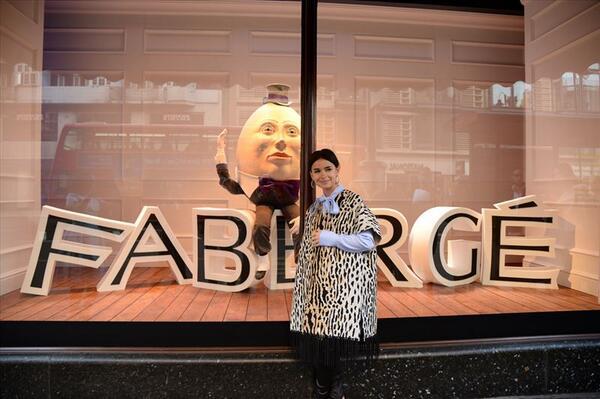 @Harrods @OfficialFaberge #FabergeAtHarrods