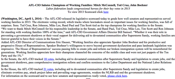 Today is April 1, as this @aflcio release touting McConnell, Cruz and Boehner makes clear http://t.co/ie13eIQ8R4