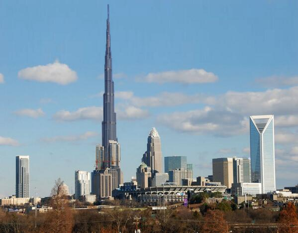 Donald Trump is about to break ground on the tallest building in Charlotte... http://t.co/wtQQHVB4rg #clt #highrise http://t.co/IompOtwUhp