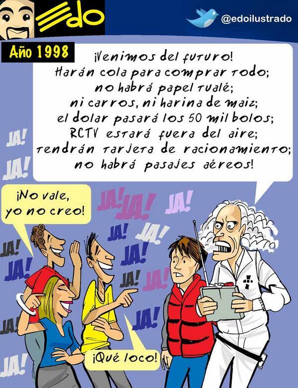#Caricatura de @edoilustrado hoy en El Mundo - El futuro Vea más en http://t.co/rKaw6bxLm4 http://t.co/v2M6pv54Zr