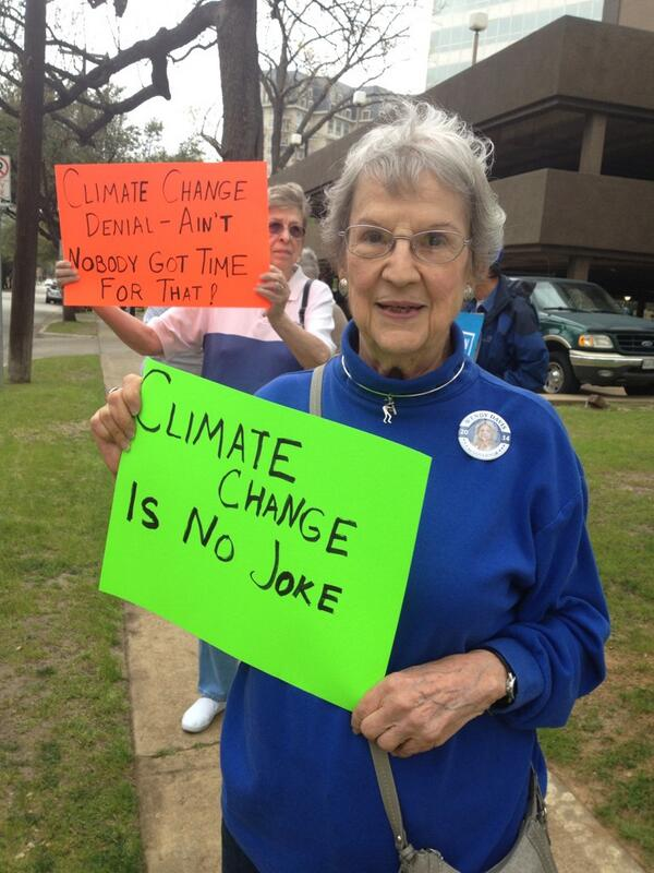 #OFAction today asked @SenTedCruz not to be a  #ClimateFool  - we only have one planet - we must take care. @OFA_TX http://t.co/jreERCSlxB