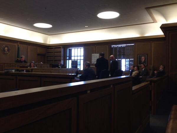 Attorneys are now arguing pre-trial motions. http://t.co/tWGIH4QqlM