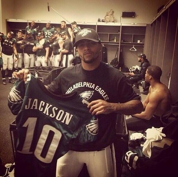 This picture captures one reason DeSean didn't fit Chip's culture. RT @4EverDry: speaks volumes #eagles #redskins http://t.co/s216WwApkL