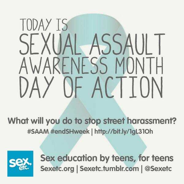 RT & raise awareness of street harassment—it's more common than you think. http://t.co/yOYuUudxgY #SAAM #endSHweek http://t.co/j8FGVBtIFT