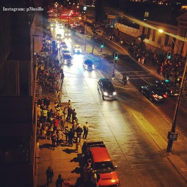 People evacuate bldgs. in Antofagasta, Chile, after powerful earthquake strikes off coast: http://t.co/ahukmIecIj http://t.co/y4zW7ijjj4