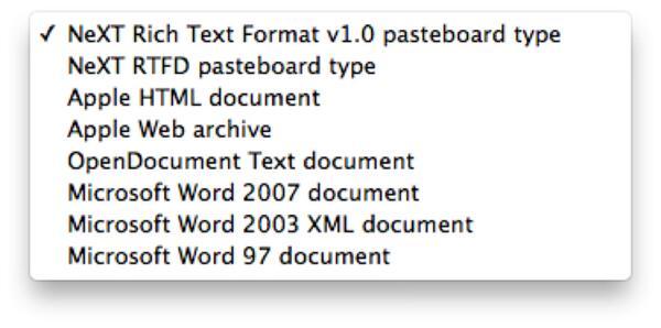 rich text format rtf