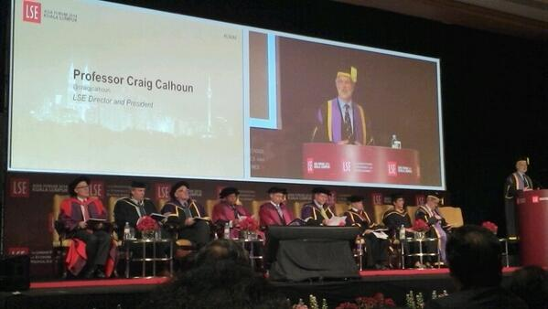 A real pleasure to be at an LSE graduation ceremony in Malaysia #lseaf http://t.co/PXxU5OYpwf