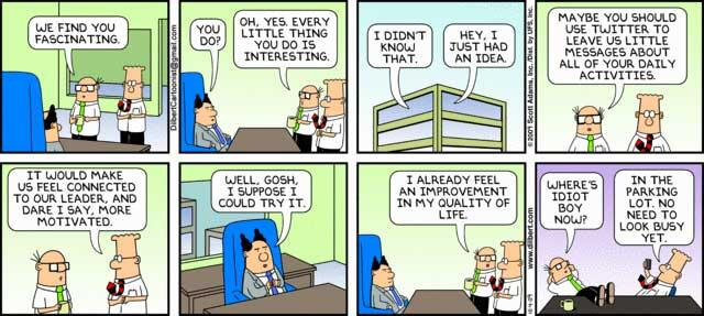 Twitter / RobJConsulting: Why you should get your CEO ...
