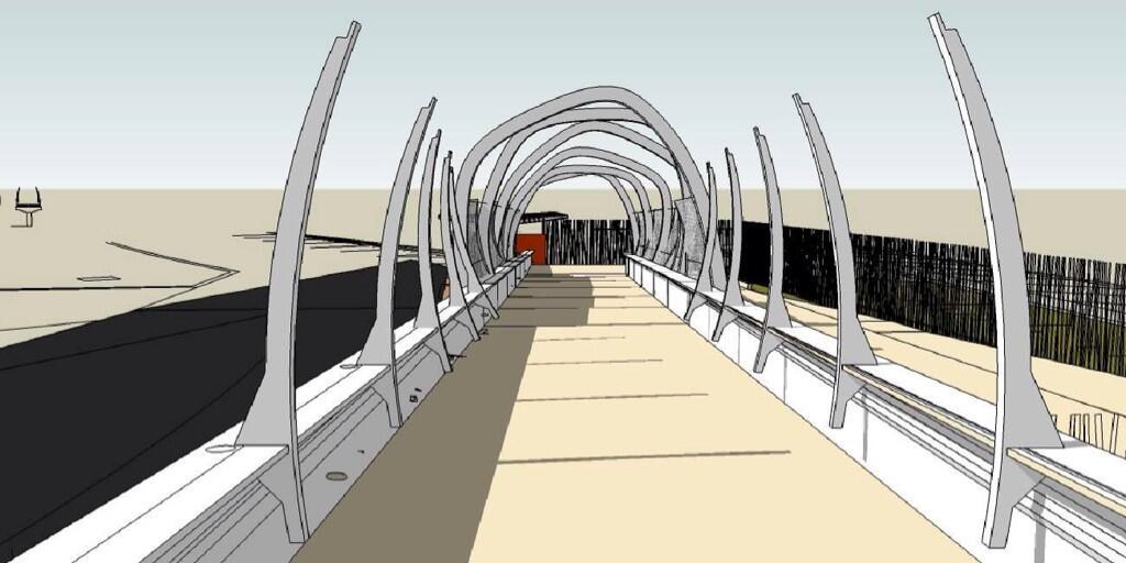 Nouvelle passerelle d'accès Parc - Hôtel du Futuroscope - Page 2 BkN776vIEAA7aeT