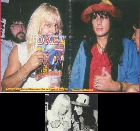 """Martha Melista On Twitter: """"Razzle And Vince Neil Before"""
