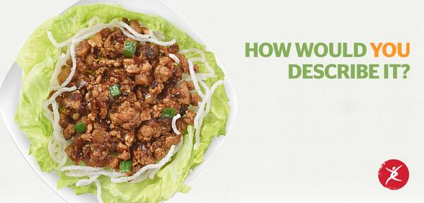 Crisp, fresh, light and flavorful - just a few words to describe our one-of-a-kind lettuce wraps. http://t.co/SiBSWnlcR9