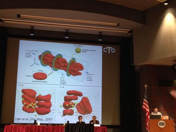 Dr. Andy Yun showing the importance of predicting how chemo drugs interact with red blood cells #PhysOnc http://t.co/L2cBypH7rK