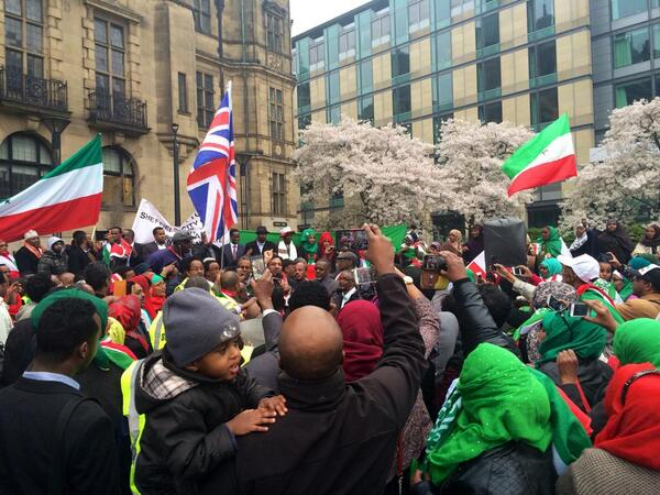 Congrats #Somaliland!| #Sheffield becomes first city in the world 2recognise #Somaliland's right to independence http://t.co/LJGDglP873